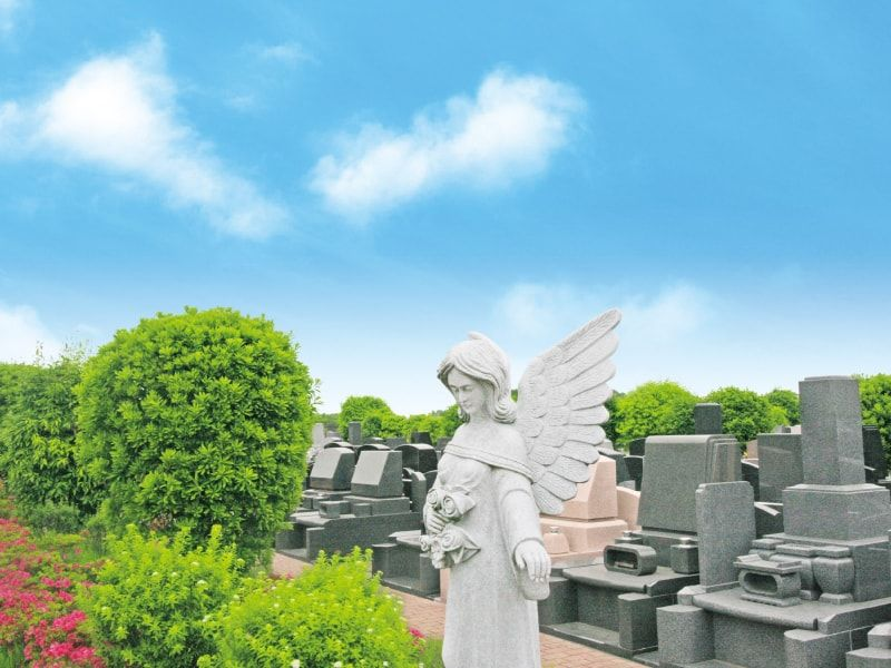 南大沢バードヒルズのお墓販売区画