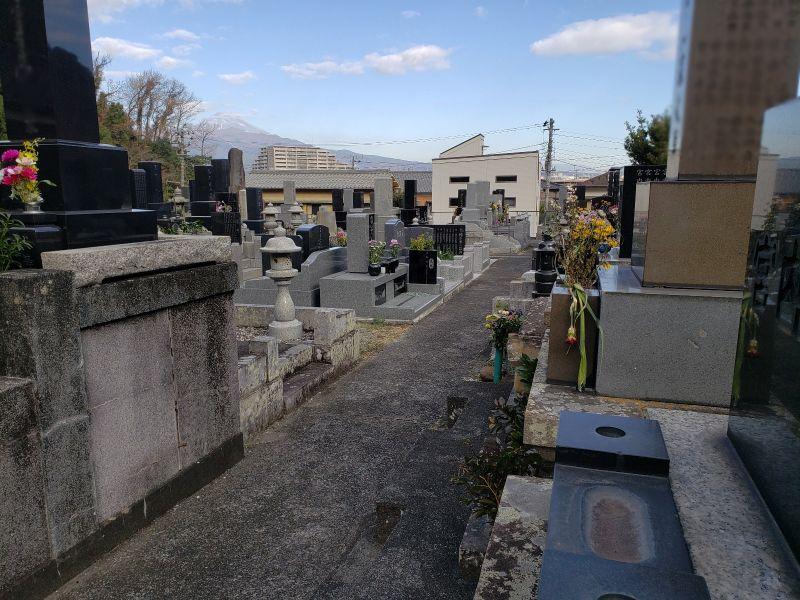 沼津市営 天神洞墓地