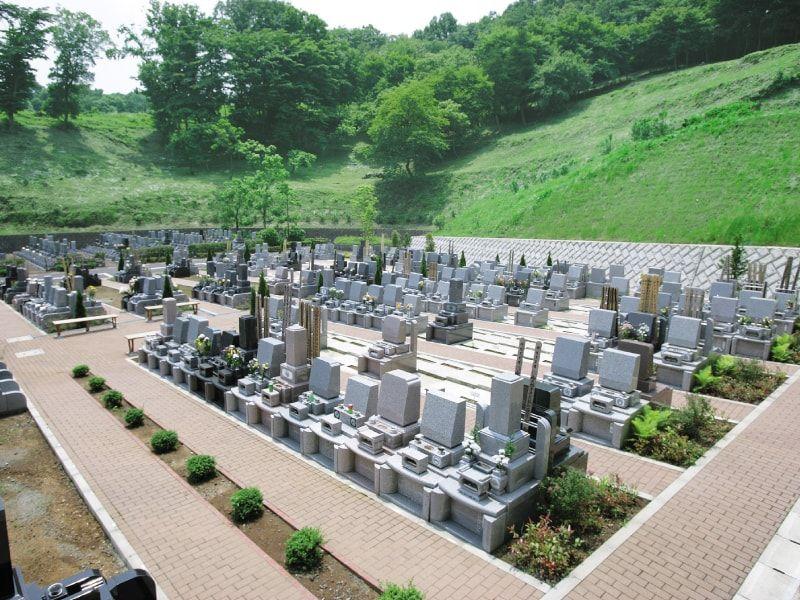 厚木森の里霊園 ゆとりある墓域