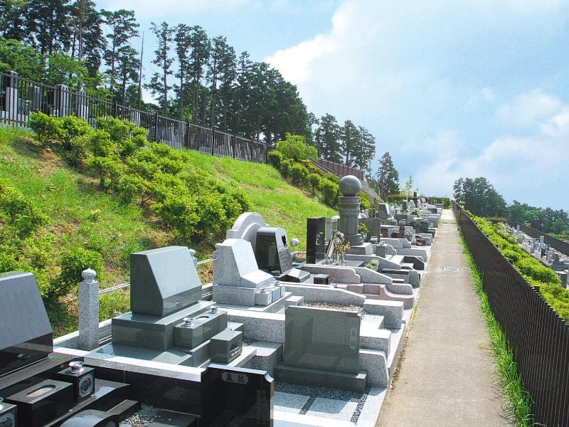 湯河原吉祥公園墓地 ゆとりある墓域