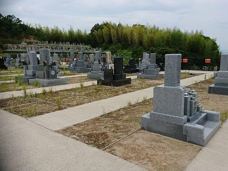 木津川市市営墓地 思いでの丘霊園