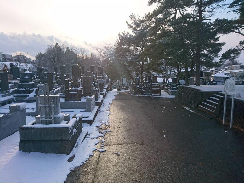塩竈市営 月見ケ丘霊園