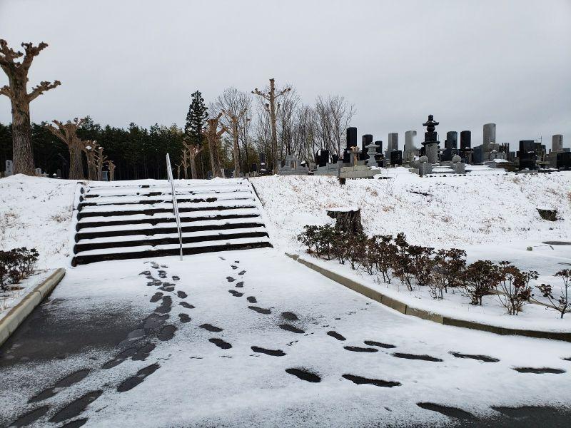 南相馬市営 原町陣ケ崎公園墓地