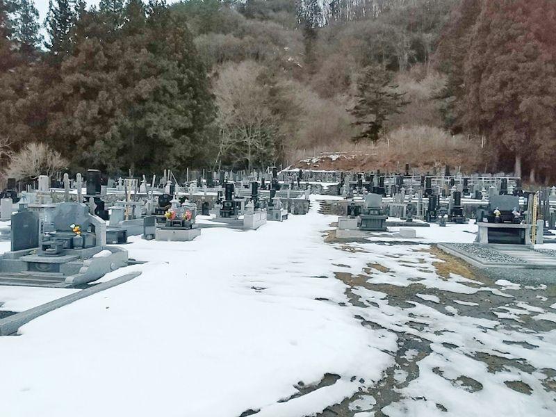 沼田市園原墓地