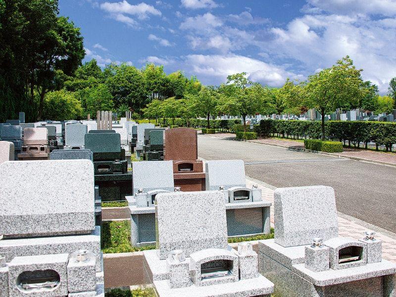 東京多摩霊園 車が横付けできる墓域