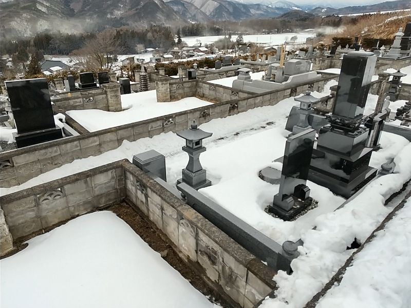 沼田市平川墓地