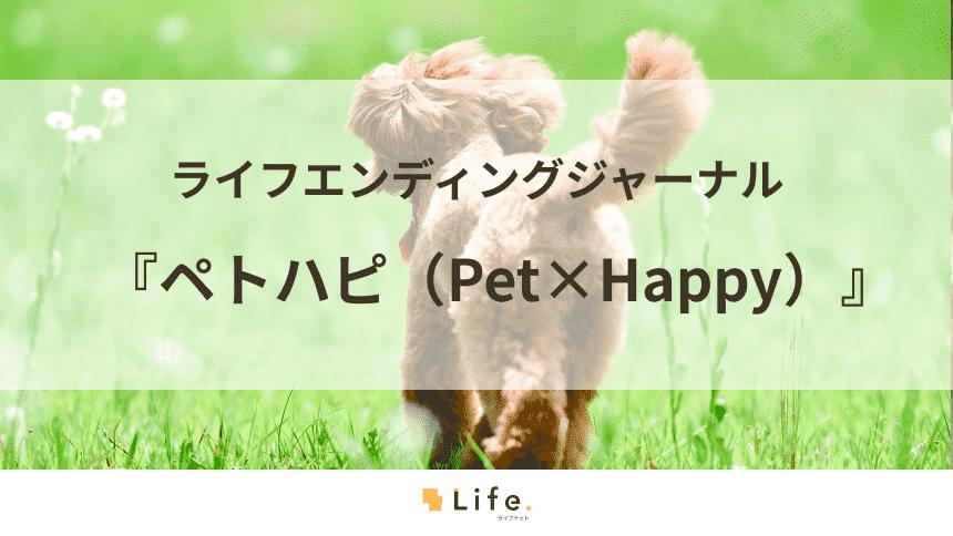 ペトハピが広める「ペットの終活」~ペットを迎えたら考えよう~