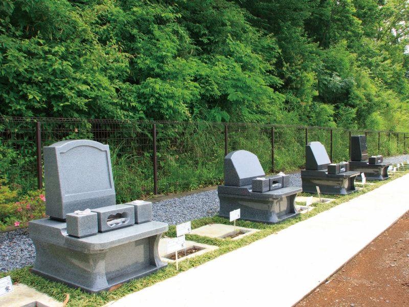むさしの霊園 緑豊かな墓域