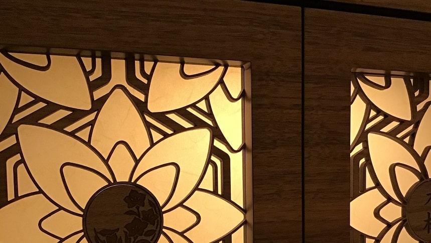 武蔵陵苑の扉