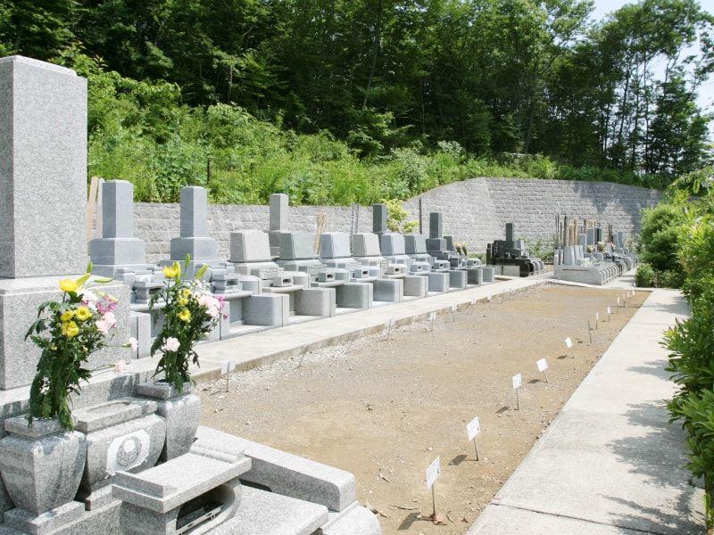 むさしの霊園 日当たりの良い明るい墓域