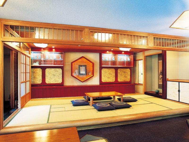 横浜中央霊園 和風の休憩室