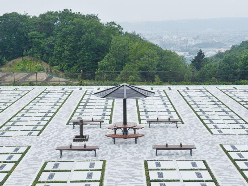 西多摩霊園の墓所
