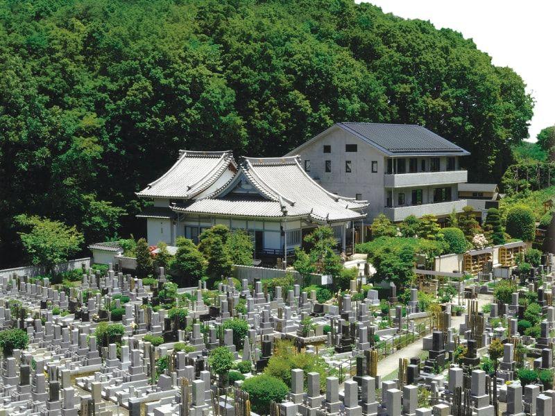 城山霊園 緑豊かで日当たりの良い霊園風景①