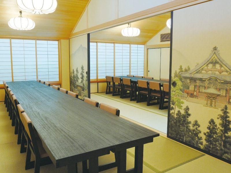 城山霊園 会食室