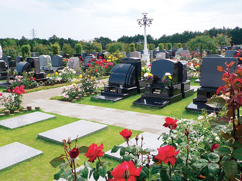 メモリアルパーク花の郷墓苑あしたか 芝墓地