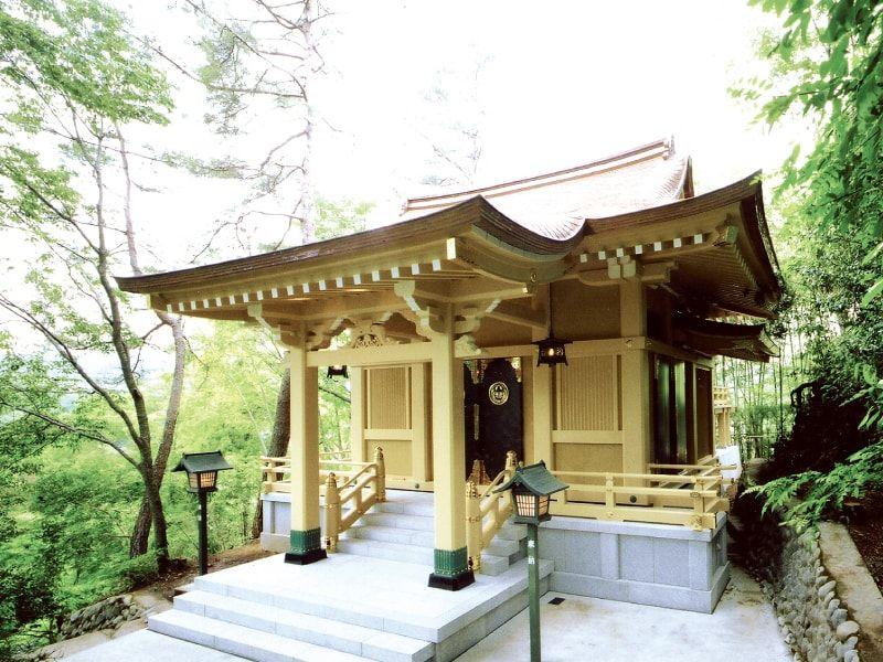 みたまやすらぎの里 稲足神社霊園 稲足神社本殿