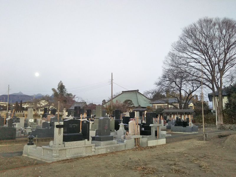 長松寺南霊園