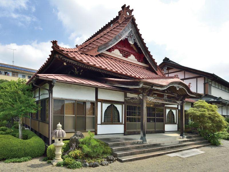 大泉寺墓所 本堂