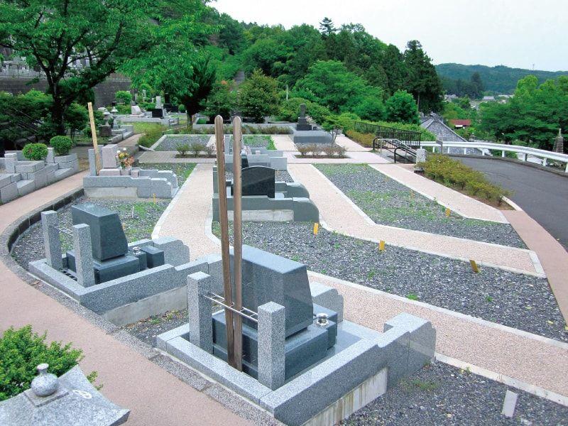 大多摩霊園 ゆとりある一般区画