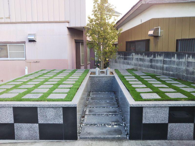 太田八幡町共同墓地 樹木葬