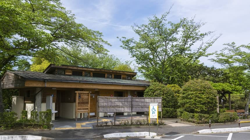 霊園の管理事務所