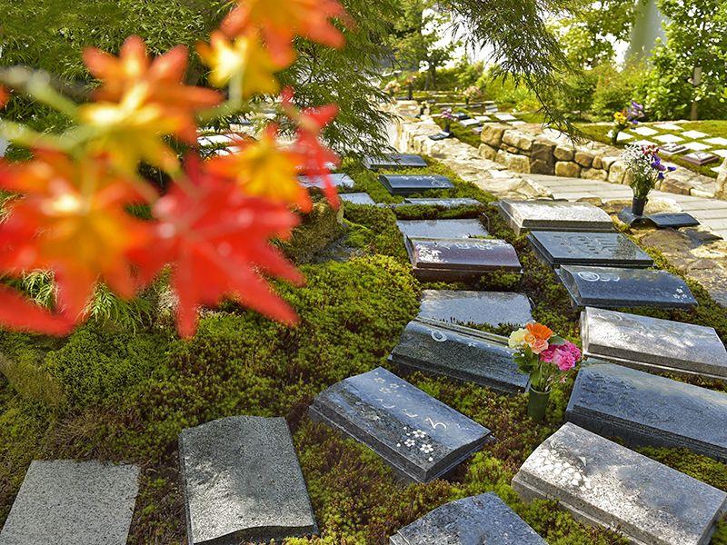東山霊園 庭園墓 花楽苑
