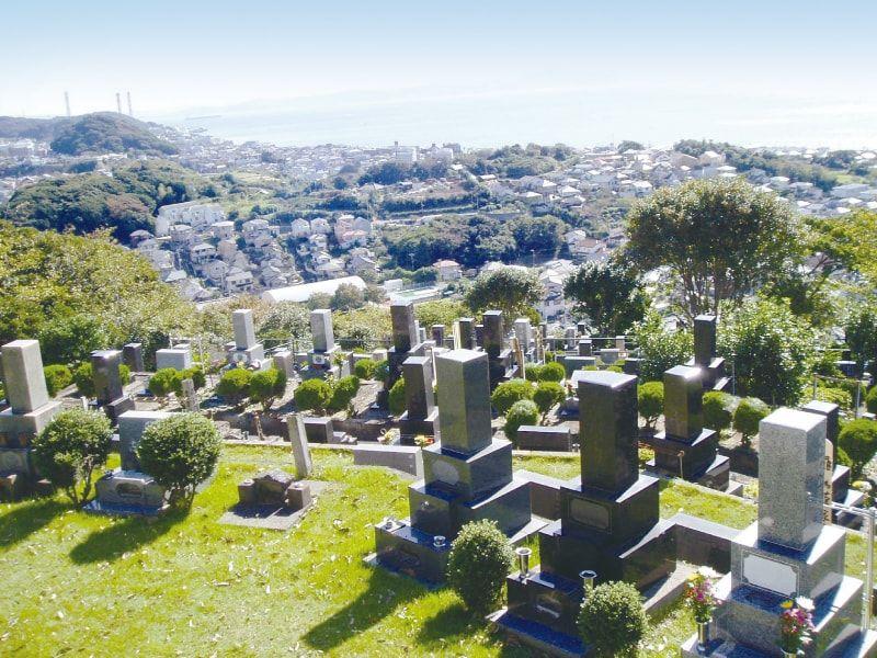 聖徳久里浜霊園 見晴らしがよい霊園
