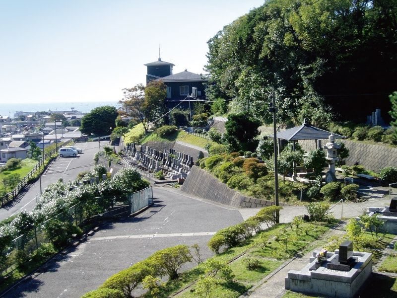 聖徳久里浜霊園 日当たり良好な墓域