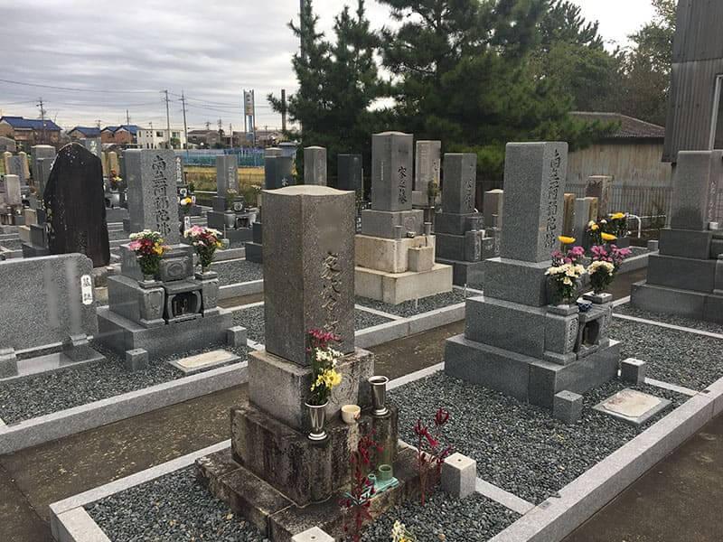 羽島市営 外粟野墓地