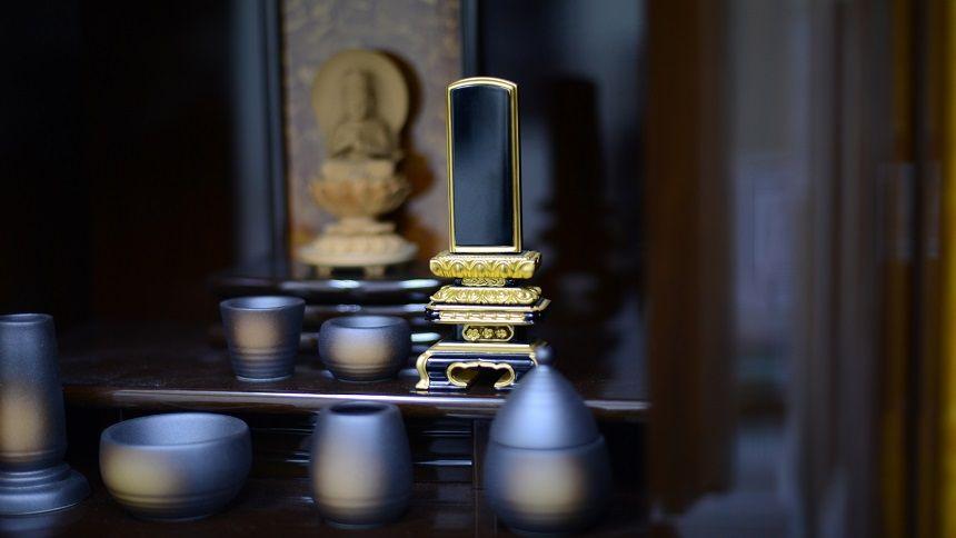 仏壇の位牌