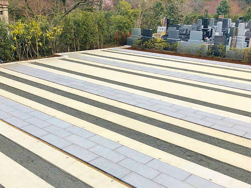 鎌倉湖墓苑二期