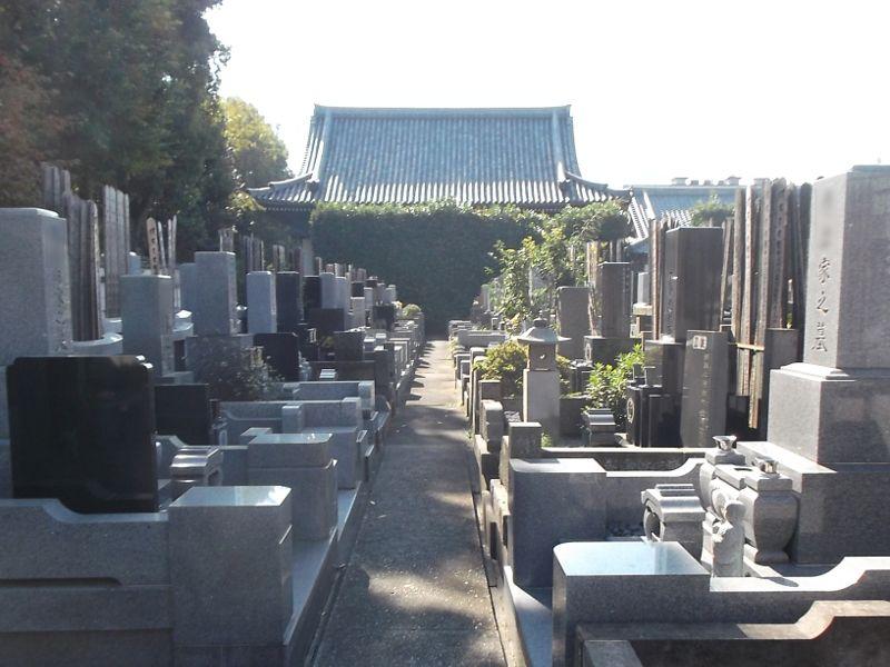 円蔵院 完成墓所一般墓所
