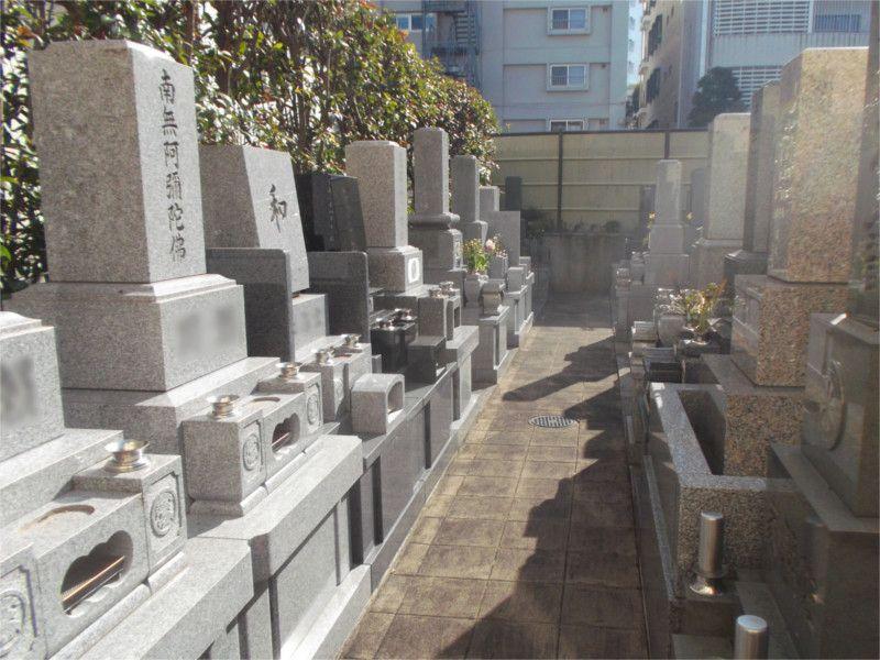 長嚴寺墓苑 一般墓