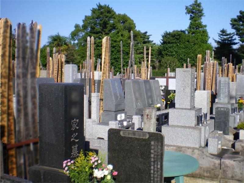清徳寺墓地 一般墓所