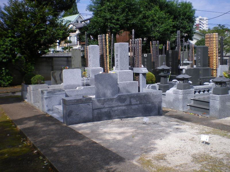 宗泰院墓苑 一般墓所