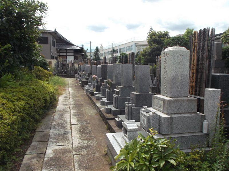 日蓮宗 如法山 長善寺 一般墓所