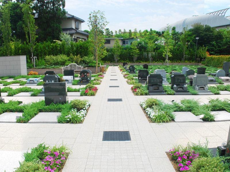 川口メモリアル和楽邸の霊園風景