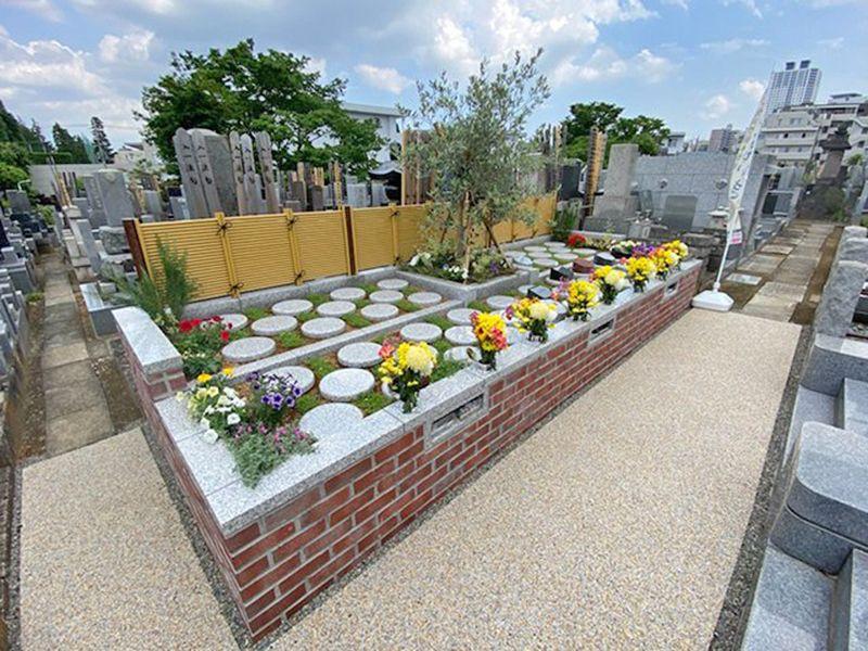 仮宿院墓地