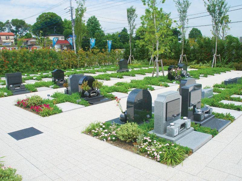 川口メモリアル和楽邸の洋型墓石