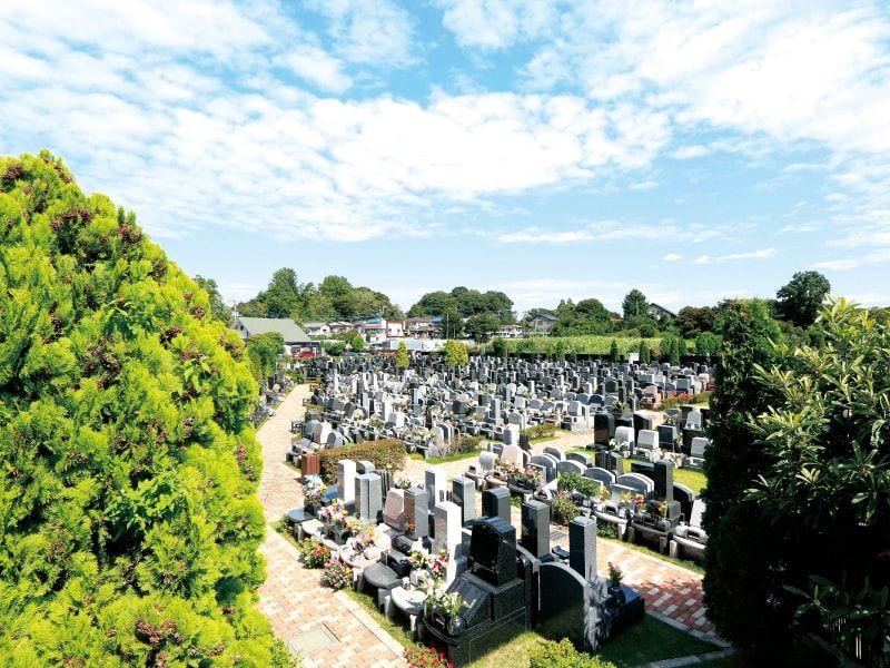 メモリアルパーク川口山王の霊園風景