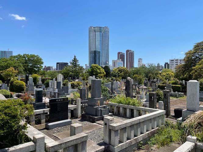 都立 青山霊園 一般墓 一般埋蔵施設