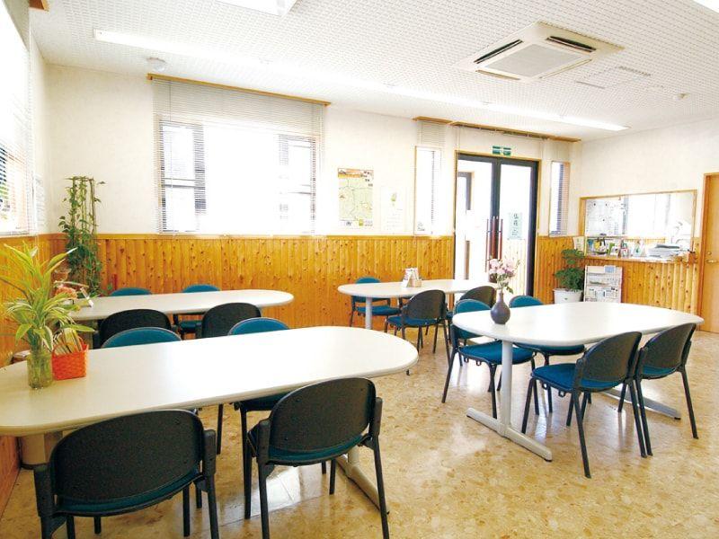 メモリアルパーク川口山王の休憩室