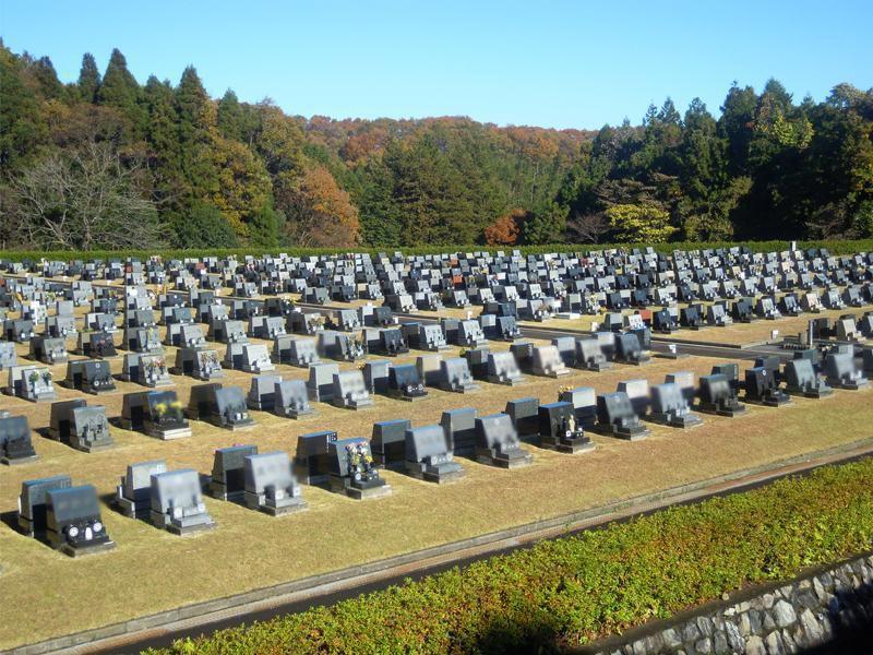 都立 八王子霊園 一般墓 芝生埋蔵施設