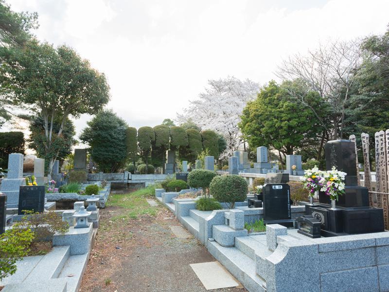 都立 多磨霊園 一般墓 一般埋蔵施設