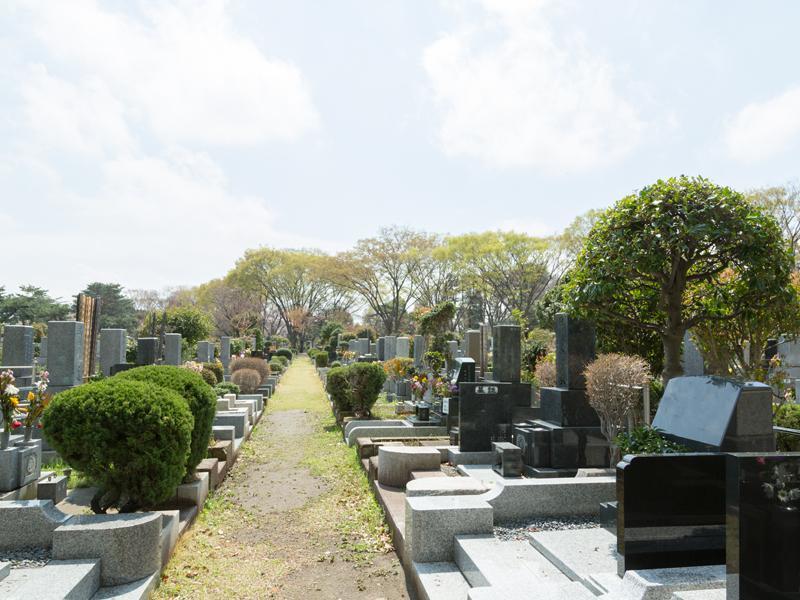 都立 小平霊園 一般墓 一般埋蔵施設