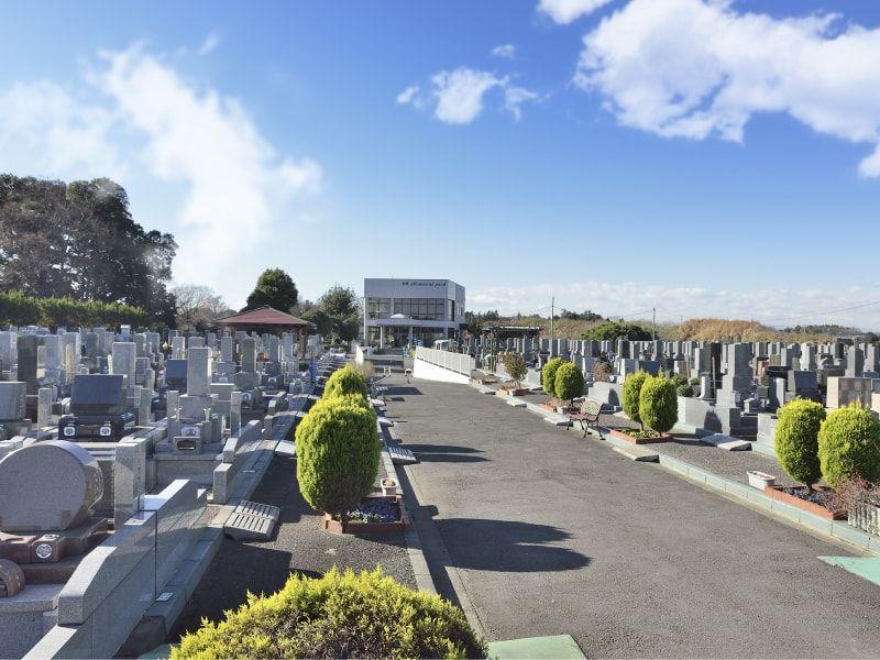 蓮田霊園利休メモリアルパークの風景