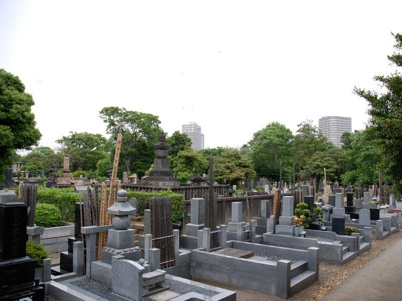 都立 谷中霊園 一般墓 一般埋蔵施設