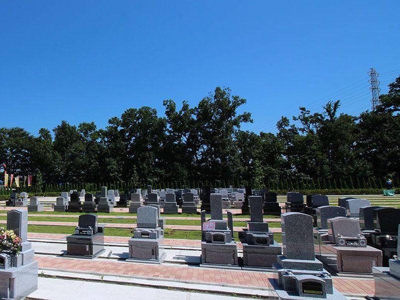 南川越霊園 一般墓 三方ゆとり