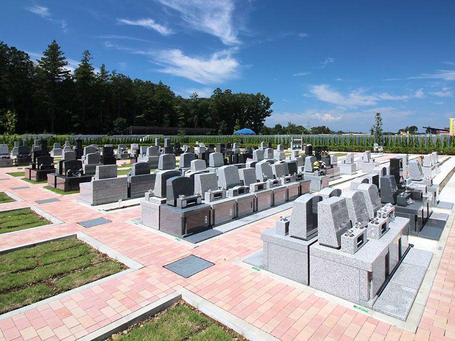 南川越霊園 一般墓 テラス墓所