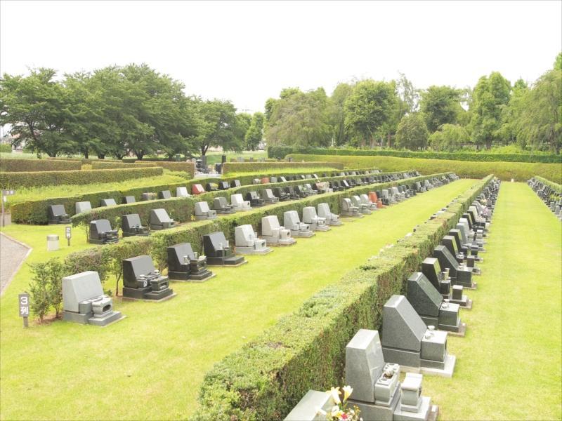 さいたま市営霊園 思い出の里 一般墓 芝生墓地